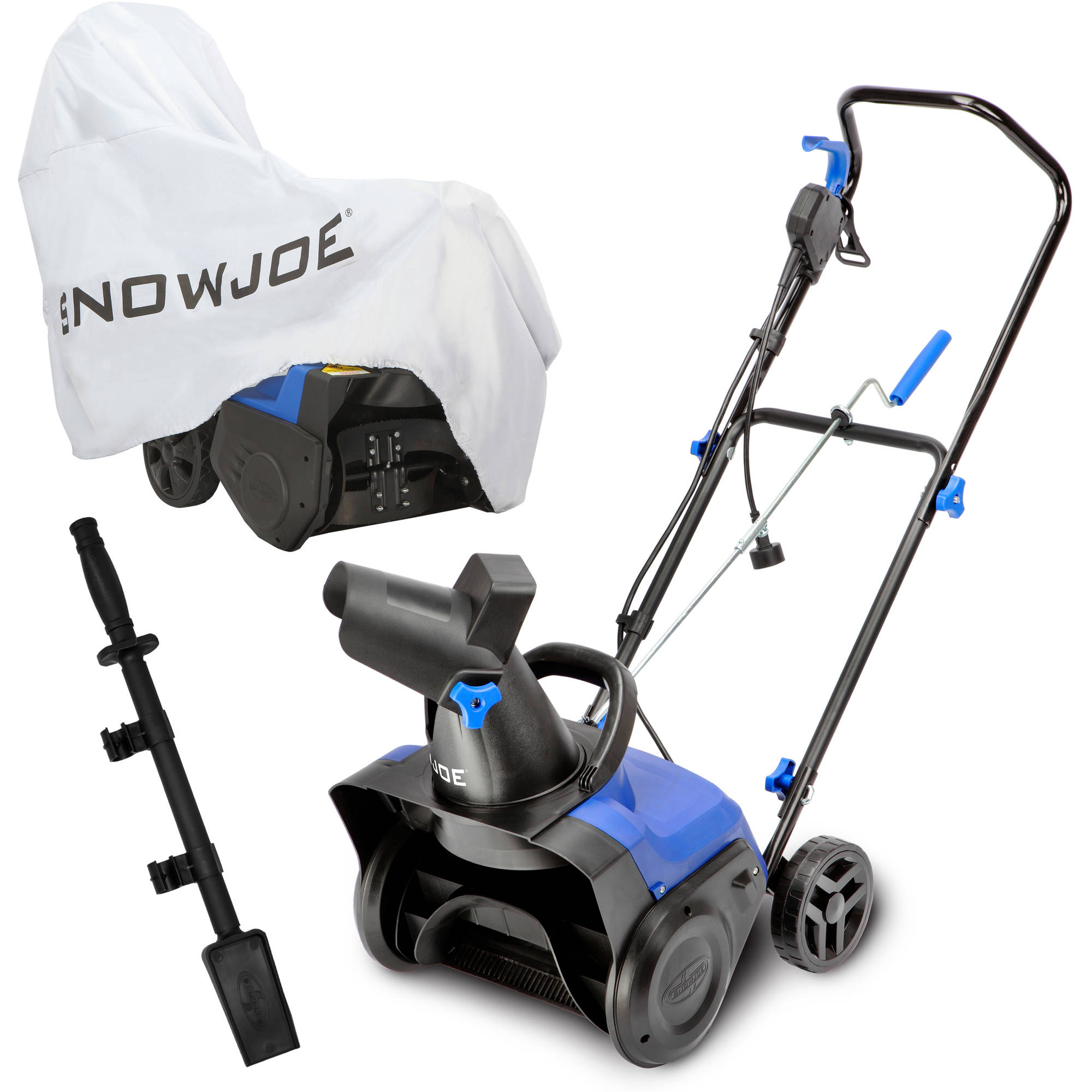 "Snow Joe 15"" 11 AMP Electric Snow Blower Bundle (Includes SJ615E, Cover, & Chute Clean-Out Tool)"
