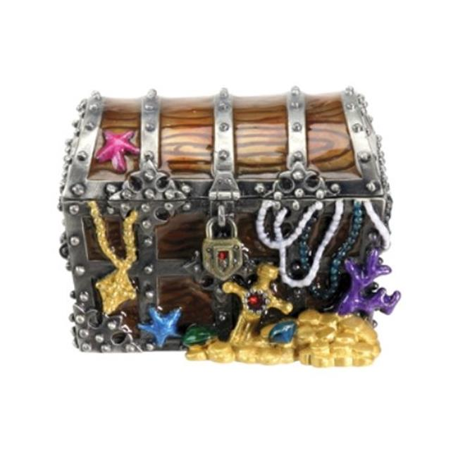 YTC Summit 7428 PIRATE CHEST JEWELED BOX, C-40