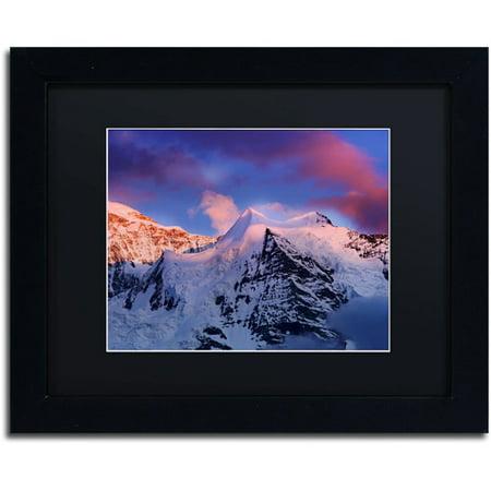"Trademark Fine Art ""Sunset Celebration"" Canvas Art by Philippe Sainte-Laudy, Black Matte, Black Frame"
