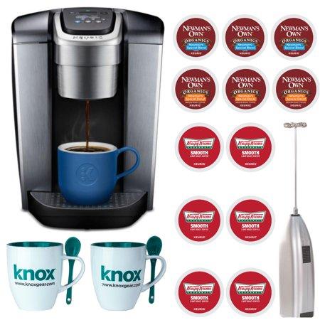 - Keurig K-Elite Single Serve K-Cup Pod Coffee Maker, Brushed Slate Bundle