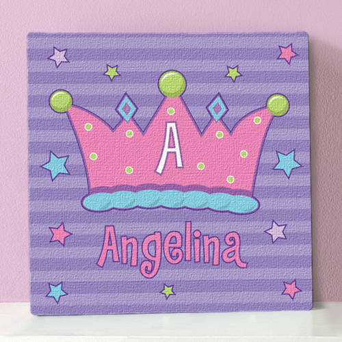 "Personalized Canvas, 11"" x 11"", Available in Multiple Designs"