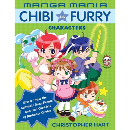 Manga Mania Chibi and Furry Characters : How to Draw the Adorable Mini-Characters and Cool Cat-Girls of Manga](Halloween Chibi Drawings)