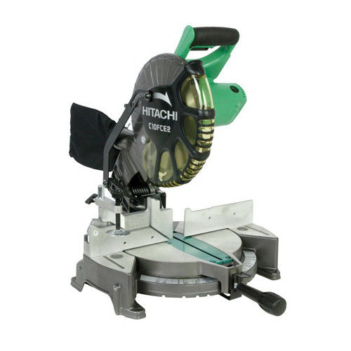 Factory-Reconditioned Hitachi C10FCE2 10 in. Compound Miter Saw (Refurbished) by