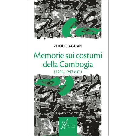Memorie sui costumi della Cambogia - eBook - Costumi Halloween Idee