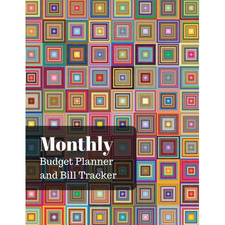 Monthly Budget Planner and Bill Tracker: With Calendar 2018-2019 Monthly Spending Planner, Bill Planner, Financial Planning Journal Expense Tracker Bill Organizer Notebook Business Money Personal Fina