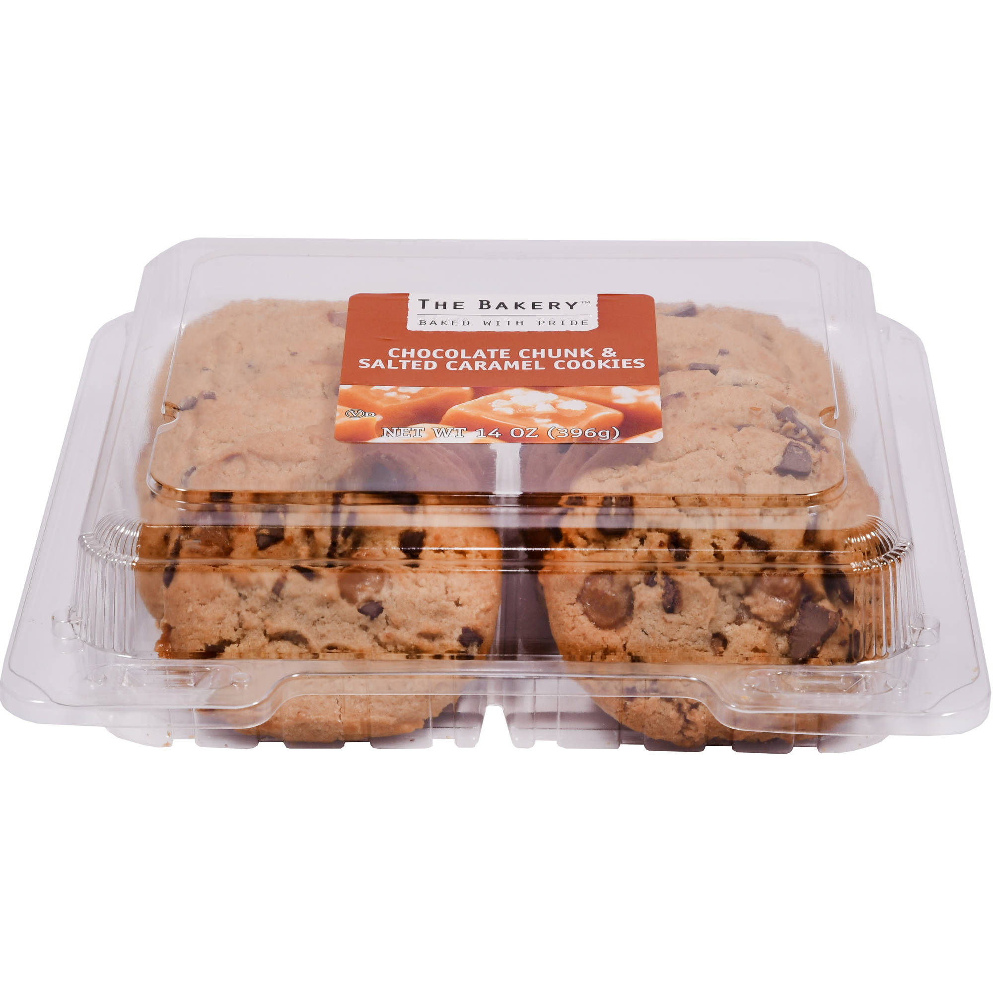 Wal-mart Bakery Chocolate Chunk Salted Caramel Cookies