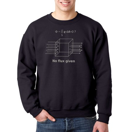 475 - Crewneck No Flux Given Capacitor Equation Sweatshirt