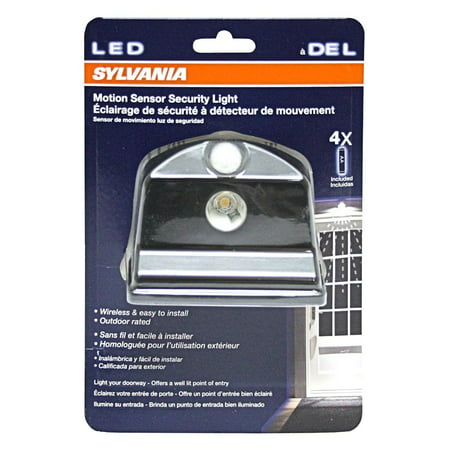 Sylvania 72317 - LED Battery Operated Motion Sensor Security Light
