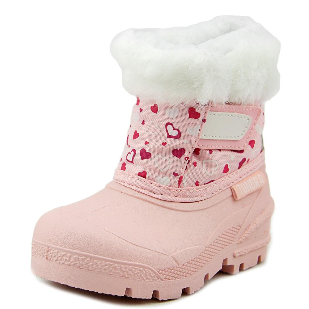 Tundra Smile   Round Toe Synthetic  Snow Boot