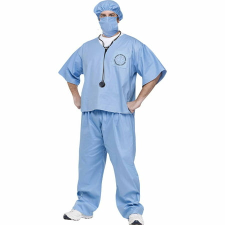 Fun World Doctor! Doctor! Adult Dress Up / Role Play Costume