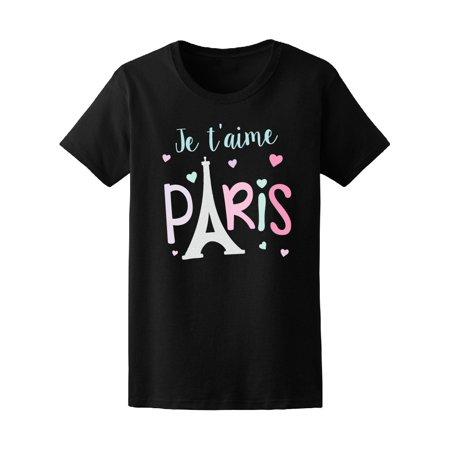 Eiffel Tower Pajamas (I Love Paris Eiffel Tower Tee Women's -Image by)