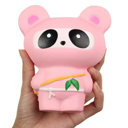 SNHENODA 2 Pcs Squishy Toys for Kid Lovely Ninja and Small Animals Stress Relief Toys Funny - Stress Relief Gift