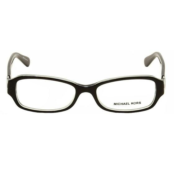 200d615853 MICHAEL KORS Eyeglasses MK8002 ANGUILLA 3001 Black Blue 52MM - Walmart.com