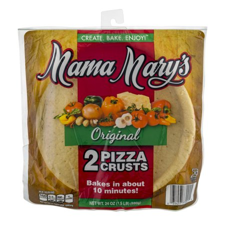 Mama Mary's Original Pizza Crusts - 2 CT