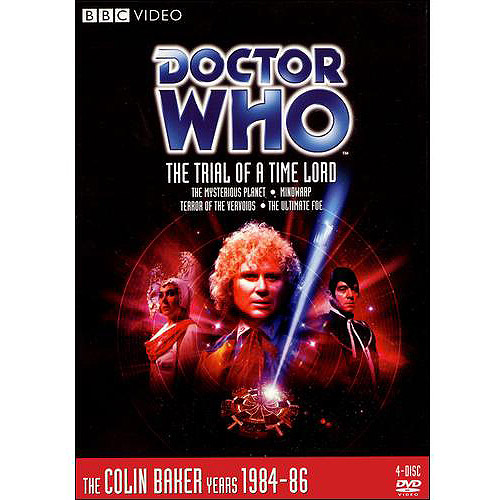 DR WHO-TRIAL OF A TIME LORD (DVD/EPISODES 144-147/4PK/4:3 TRANS/ENG-SUB)