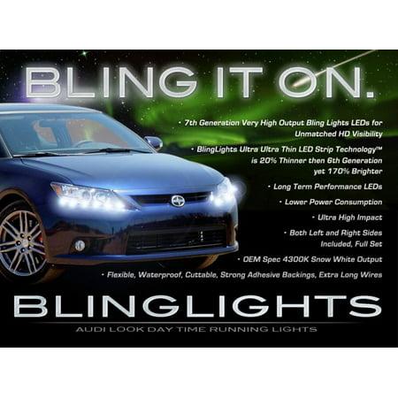 Scion tC LED DRL Head Light Strips Daytime Running Lamps (Scion Tc Convertible)