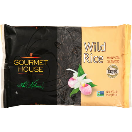 Gourmet House ® Minnesota Cultivated Wild Rice 1 lb. Bag