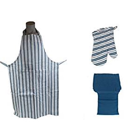 Williams Sonoma Chef Apparel w/ Cooking Essentials (French Blue) (Williams Sonoma Home Crystal)