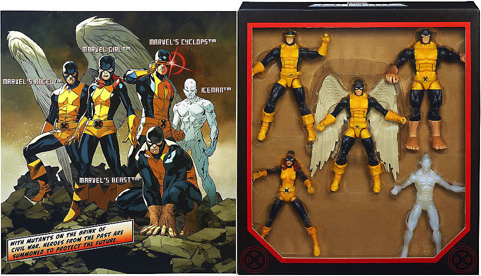 Marvel Boxed Sets All New X-Men Action Figure 5-Pack Boxed Set by