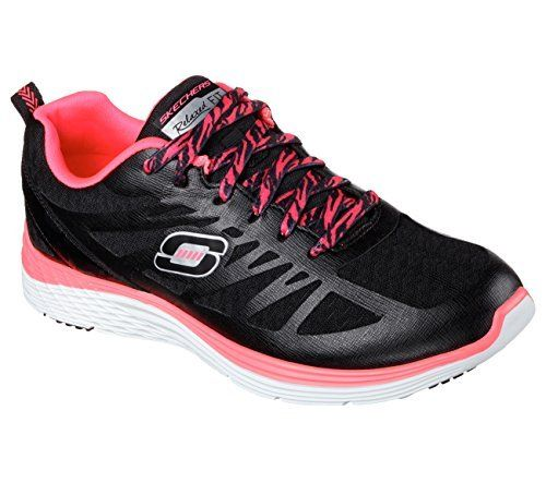 Skechers Valeris-Flying High Black/Hot Pink 12137/BKHP