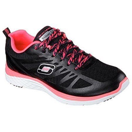 134364fdd145 Skechers - Valeris-Flying High Black Hot Pink 12137 BKHP - Walmart.com