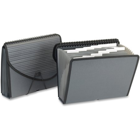 Pendaflex, PFX01121, 13-pocket Expanding Spiral File, 1 Each, Smoke