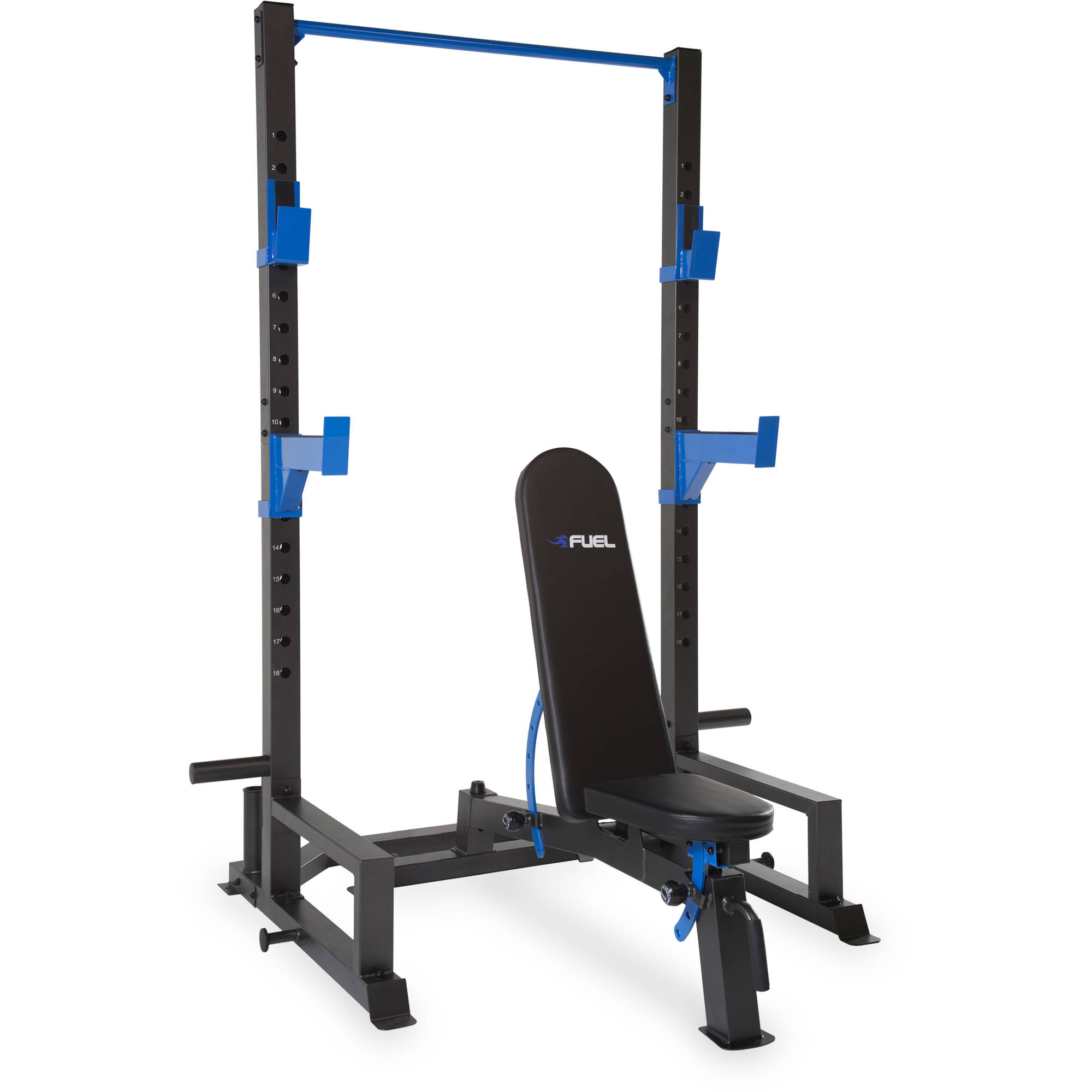 Pure Fitness Fid Bench Fuel Pureformance Power Cage With Fid Bench Ebay