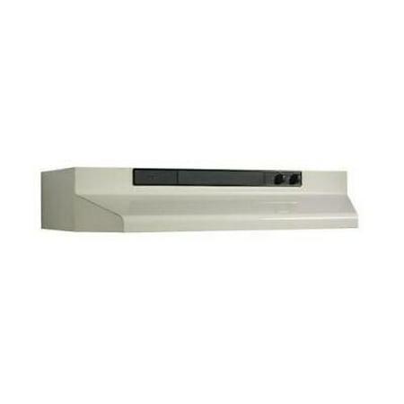 - BROAN-NUTONE 463602 36 in. 220 CFM Under Cabinet Range Hood, Bisque
