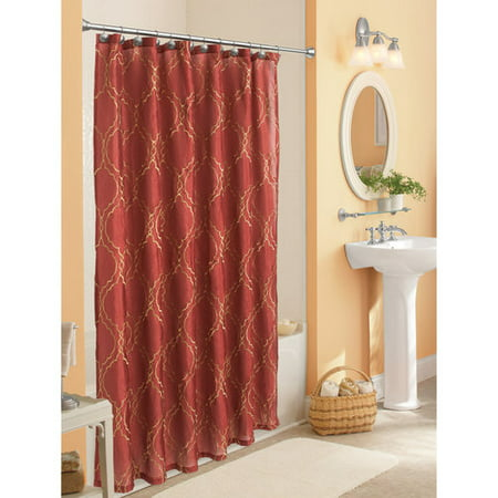 Better homes and gardens trudy shower curtain Better homes and gardens shower curtains