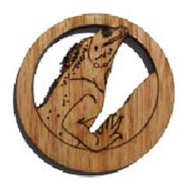 'Camic designs REP006N6 Laser-Etched Chinese Water Dragon Ornaments - Set of 6