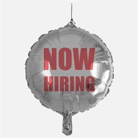 Mayflower 91593 18 in. Now Hiring Foil Balloon - Pack of 5](Party City Now Hiring)