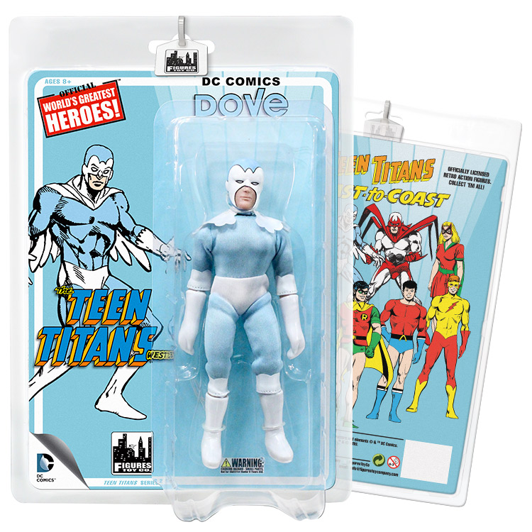 Teen Titans Retro 7 Inch Action Figures Series Two: Dove by