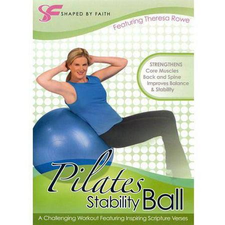 Shaped By Faith: Pilates Stability Ball (Full Frame) (Ball Exercise Dvd)
