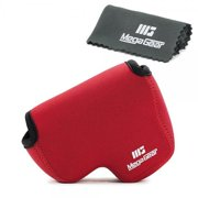 MegaGear MG728 Ultra Light Neoprene Camera Case compatible with Nikon Coolpix B500 - Red