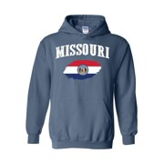 Unisex Missouri State Flag Hoodie Sweatshirt