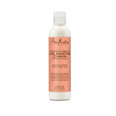SheaMoisture Coconut & Hibiscus Co-Wash Conditioning Cleanser, 8