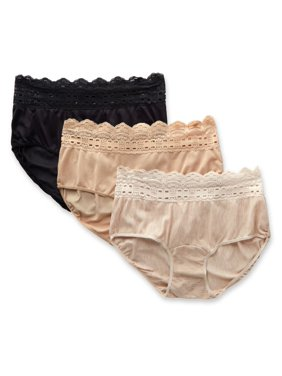 b5e15e3dfe5b Product Image Women's Olga 913J3 Secret Hug Scoop Hipster Panty - 3 Pack