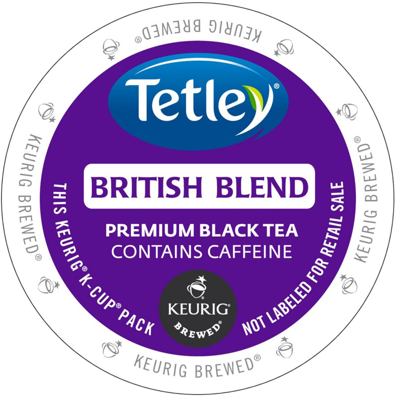Tetley British Blend Tea K-Cups -GMT6855