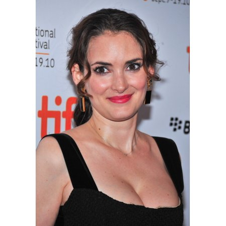 Stretched Canvas Art   Winona Ryder At Arrivals For Black Swan Premiere Screening At Toronto International Film Festival  Tiff    Small 8 X 10 Inch Wall Art Decor Size