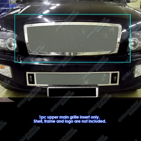 Compatible with 04-10 Infiniti QX56 Stainless Steel Mesh Grille Insert