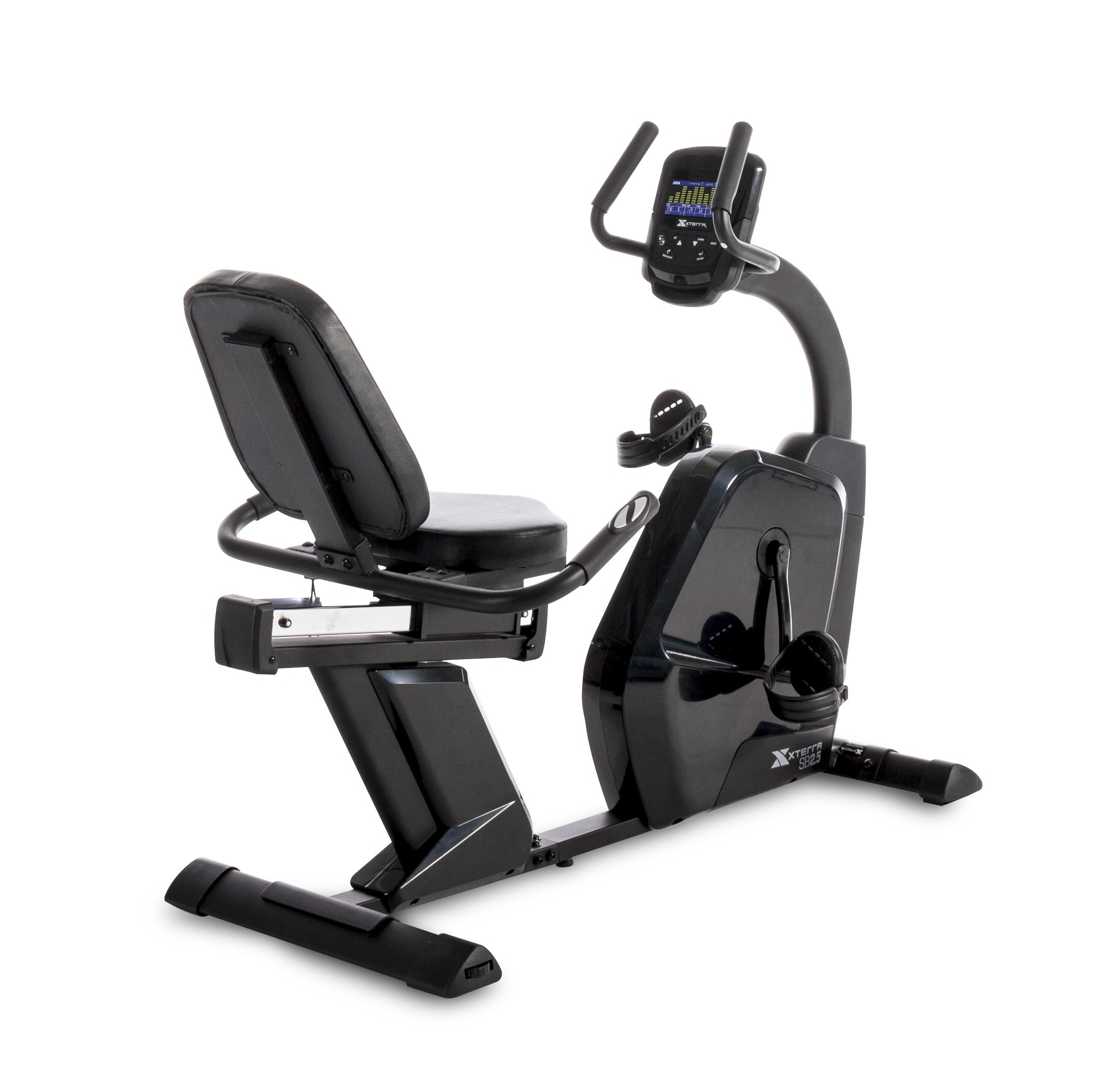XTERRA Fitness SB2.5 Recumbent Bike with 24 Magnetic Resistance Levels