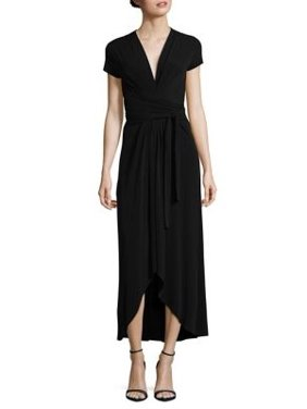d02fa2b9d14 Product Image MICHAEL Michael Kors Womens Cap Sleeves Mid-Calf Maxi Dress