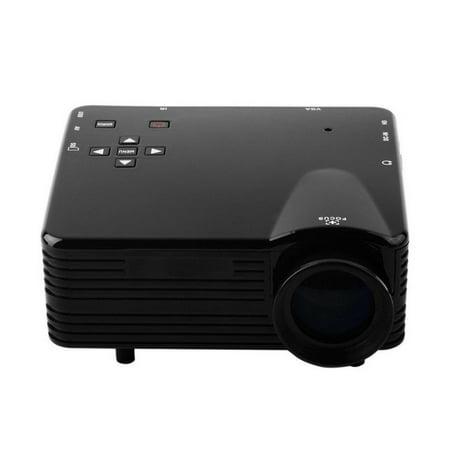 Portable Home Cinema Multimedia Movie Projector on Sale HD 1080P Projector PC AV TV VGA USB HDMI