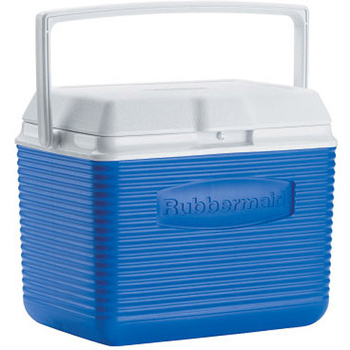 Rubbermaid FG2A1104MODBL 10 Quart Pacific Blue Victory Personal Cooler