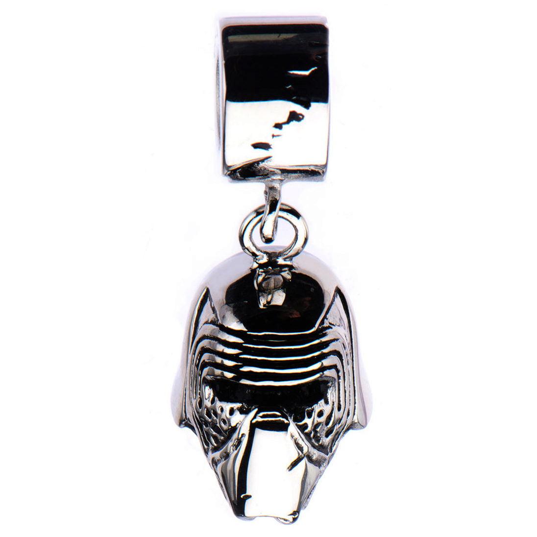 Licensed Star Wars Darth Vader Stainless Steel Bead Dangle Charm