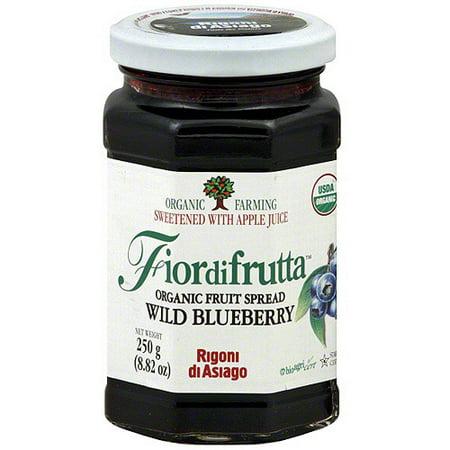 Fiordifrutta Wild Blueberry Organic Fruit Spread, 8.82 oz (Pack of 6)