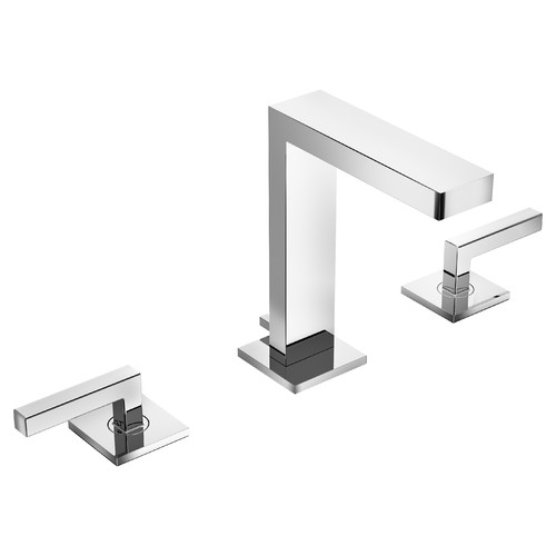Duro 2-Handle Widespread Faucet with Drain Assembly, 1.5 gpm