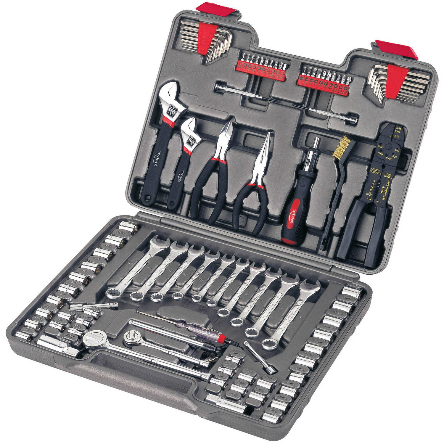 Apollo 95-Piece Mechanics Tool Set by American Fulfillment, Inc