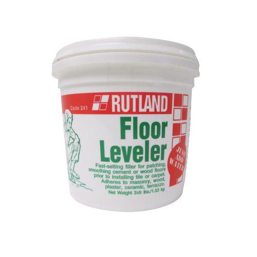 Rutland Floor Leveler - 3 1/2 Lb Tub