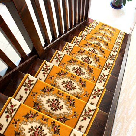 Tinton Life 13pcs Home Decor Area Rugs Blanket Anti Slip Stair Tread